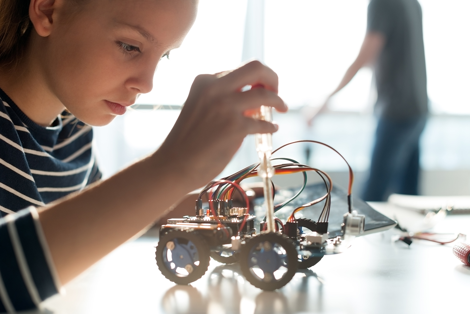manufacturer of children's educational robots participates in an asset based loan