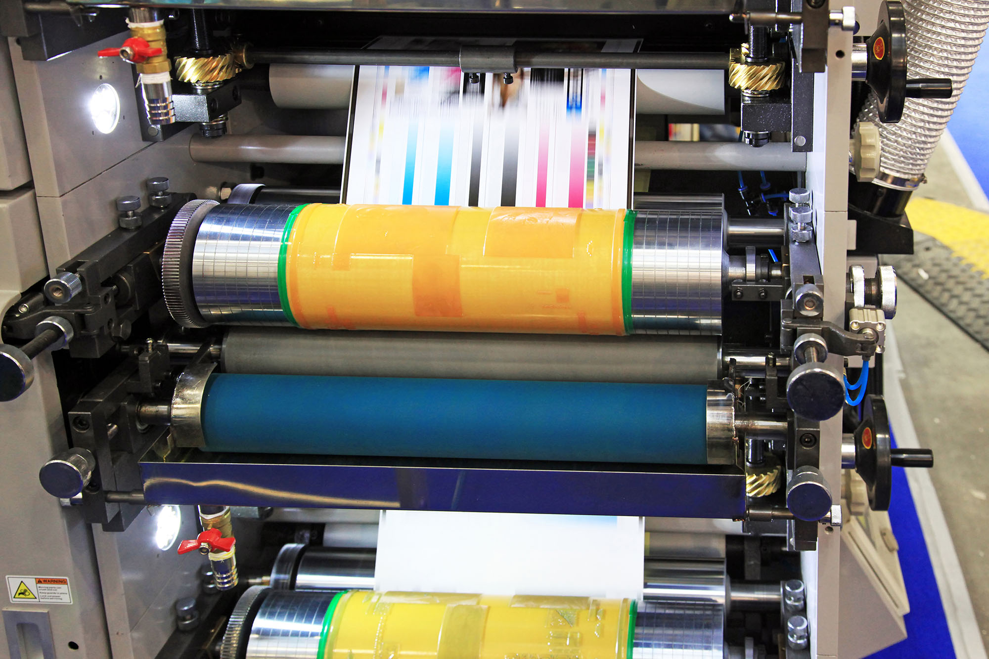 manufacturer of machines that print on flexible materials participates in an asset based loan